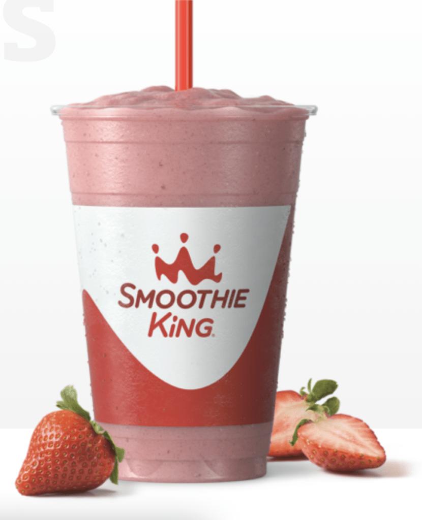 smoothie king strawberry gladiator