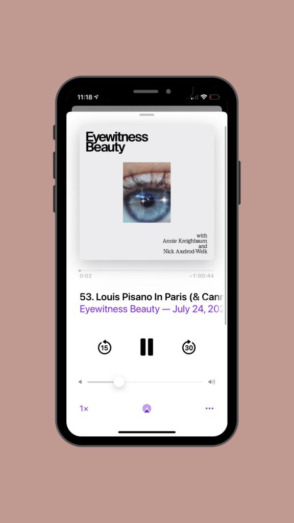Eyewitness Beauty podcast
