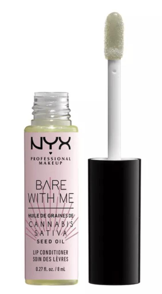 nyx bare with me lip oil
