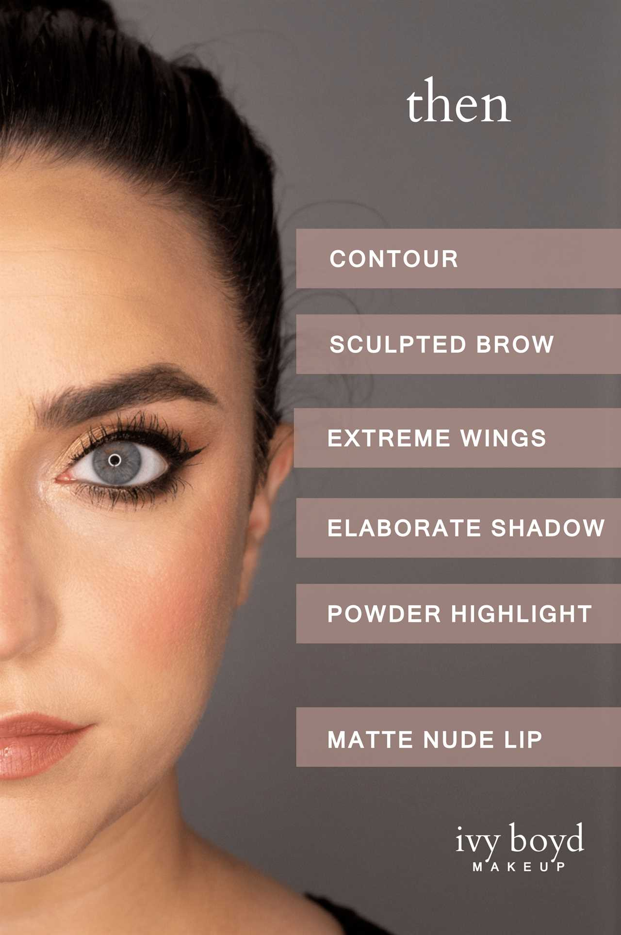 example of old makeup trends
